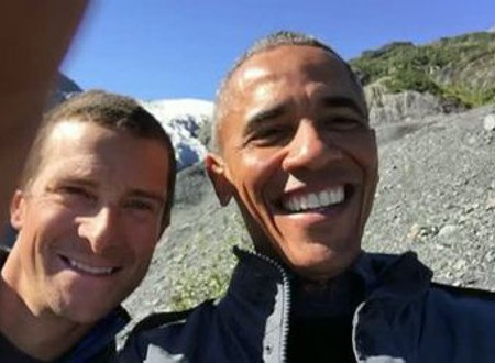 Obama in einer Survival-Show